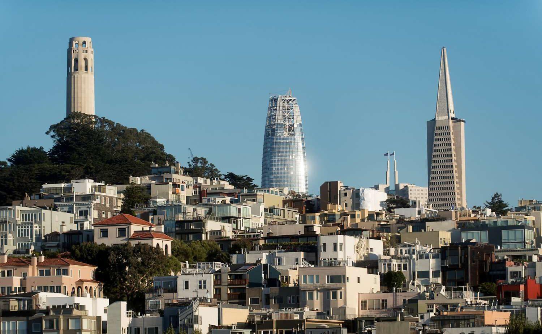 San Franciscos højeste tårn kan være et tegn på nær finansiel dommedag